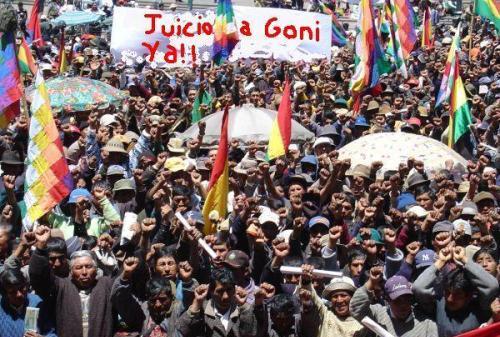 2003 Protests in Bolivia
