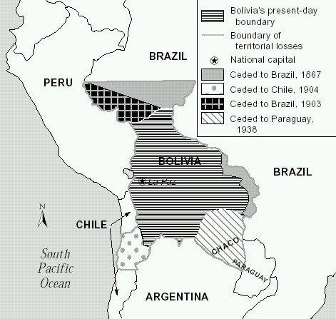 bolivia history territorial loss