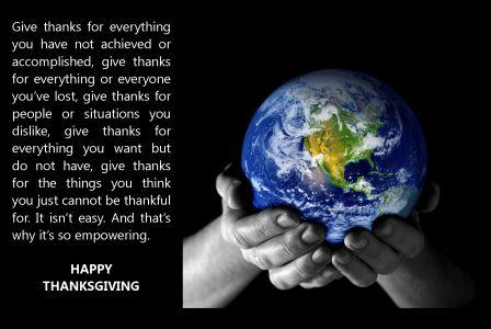 Happy Giving Thanks!