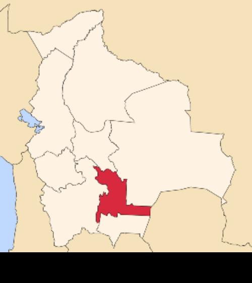 map bolivia chuquisaca
