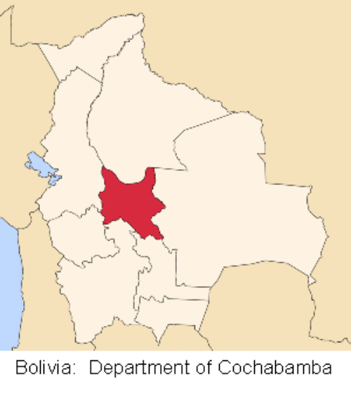 map cochabamba