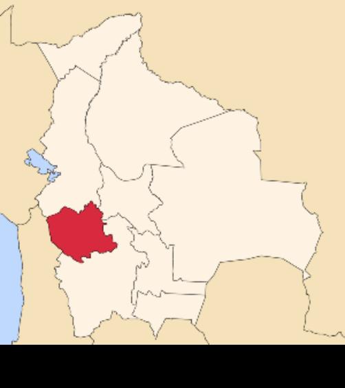 map bolivia oruro
