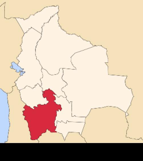 map bolivia potosi