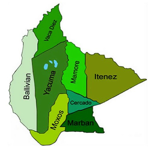the department (state) of beni bolivia