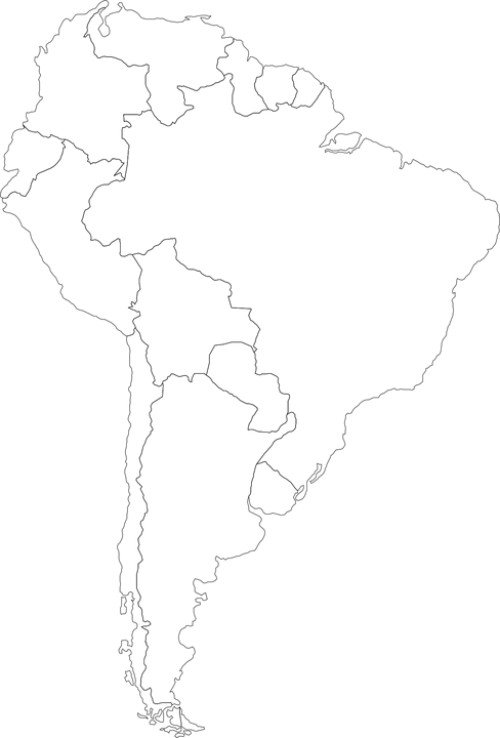 Map of Bolivia and its location within South America
