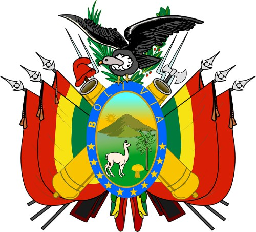 Bolivian Flag - National Emblems - Coat of Arms