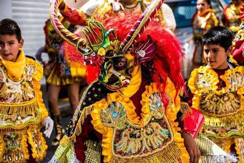 Carnaval de Oruro: Diablada (Devil) Dance - Bolivian Holidays and Festivals