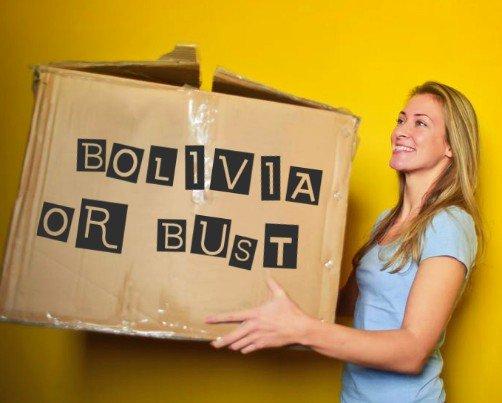 Moving to Bolivia