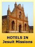 Hotels in the Jesuit Missions of Bolivia