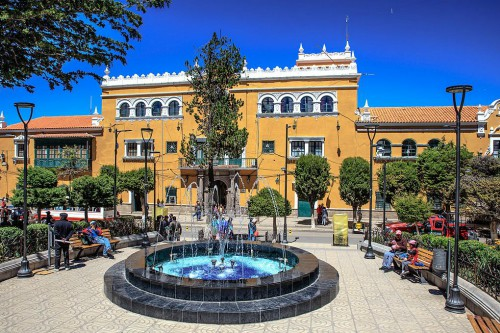 Hostels and Hotels in Sucre, Chuquisaca, Bolivia