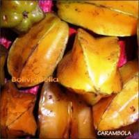 bolivian food fruit carambola starfruit