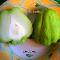 bolivia food fruit chuchu