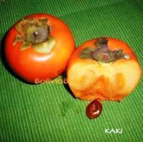 bolivian food fruit kaki persimmon