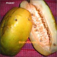bolivian food fruit pachio paquio