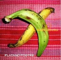 bolivian food fruit platano postre platano de freir plantain