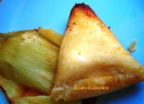 Bolivian food recipes snacks humintas