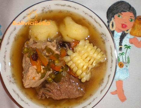 Picana is a Bolivian Christmas tradition
