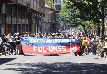 protest education bolivia