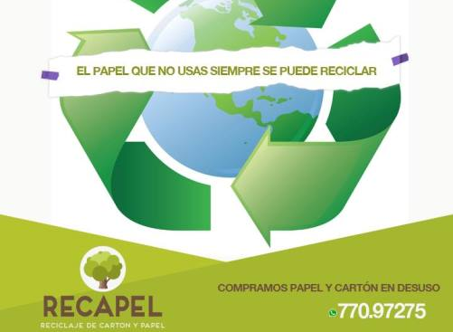Where to Recycle in Bolivia - Recapel
