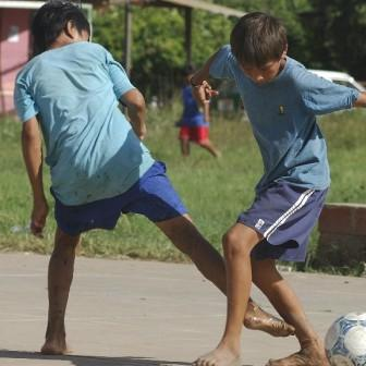 bolivia news feature san isidro soccer futbol kids