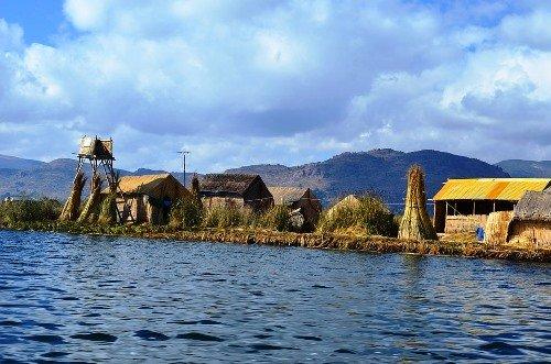 Uru Uru Floating Villages Lake Titicaca Bolivia