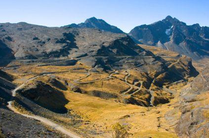 Road of Death Bolivia.