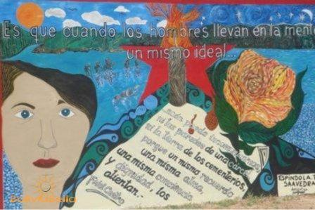 Vallegrande Che Guevara Rock Art Bolivia