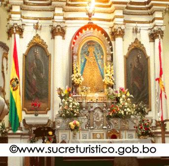Chapel of the Virgin of Guadalupe, Metropolitan Cathedral, Sucre Bolivia