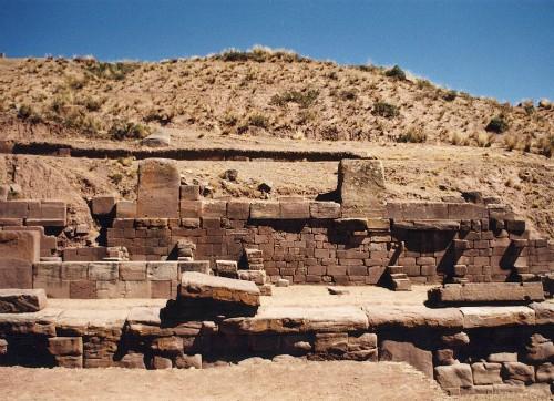Tiwanaku ruins, Tiahuanaco, Bolivia