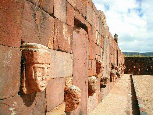 Tiwanaku Carved Heads