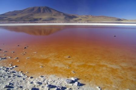Salar de Uyuni Bolivia Laguna Colorada