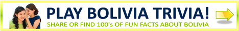 Bolivia Trivia and Fun Facts