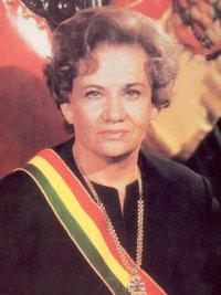 bolivia woman president lidia gueiler tejada