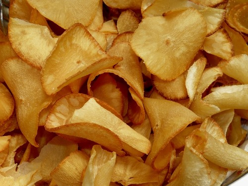 Bolivian Food and Recipes - Chipilo de Yuca - Yucca Chips