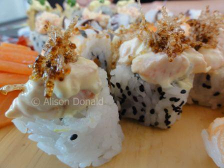 Sushi in Santa Cruz!