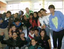 Ms. Bravo & her wonderful 6th graders at Escuela Bilingue Jose Vasconcelos