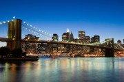 NYC Skyline Brooklyn Bridge