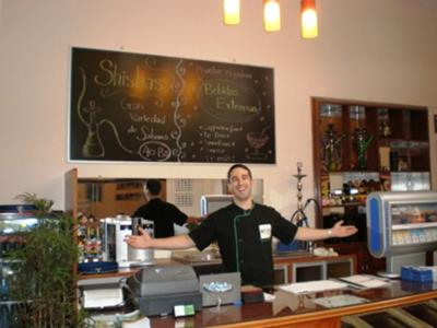 Aaron Patton - Owner of Kiwi's Café Restaurant
