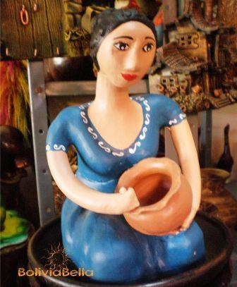 Painted pottery is what Cotoca is known for.