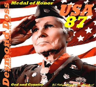 US Congressional Medal of Honor Desmond Doss by US Postage Designer Rex Davenport