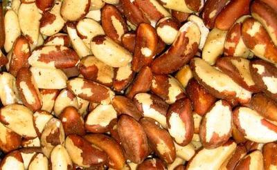 Brazil nuts shelled